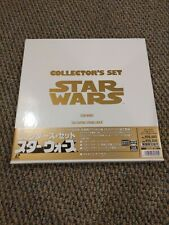 Star Wars Trilogy Collector's Set THX WS Laserdisc PILF-2070 Japan + Making Of