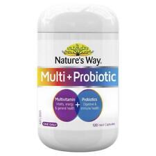 Natures Way Multi + Probiotic 120 Capsules