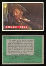 1956 Davy Crockett Green Back #59 Rough Ride  EXCL  **AA-8767**