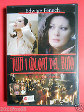 dvds film edwige fenech tutti i colori del buio sergio martino marina malfatti v