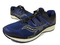 Saucony Hurricane ISO 4 Running Shoe Blue/Black S20411-3 Men's Size 10.5