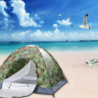 LITHER 3-4 Person Camping Dome Tent, Tents for Camping Hiking, Camouflage