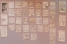 Lot de 42 gravures du Cours d'opération de M. Dionis, par J.P. Scotin, XVIIIe