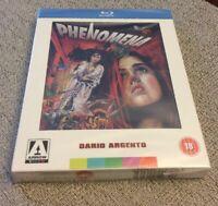 Phenomena Blu Ray Arrow Video Dario Argento Region Free Poster OOP Rare New