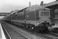 More details for 6x9cm negative br ee type 5 deltic diesel (class 55) d9019 ecml grantham station