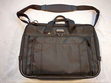 "Targus Checkpoint Friendly 16"" Laptop Bag Case With Luggage Trolley Strap NWOT"