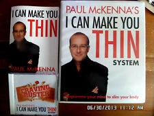Paul McKenna's - I Can Make You THIN Weigh Loss System 5CD Roms & Book 99p start
