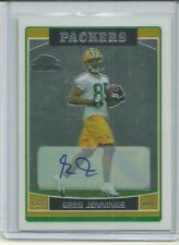 2006 Topps Chrome Greg Jennings Rookie Autograph Packers
