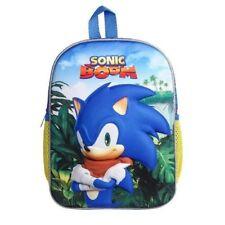 Sonic Backpack Children Junior School Students Cartoon Shoulder Boy Rucksack