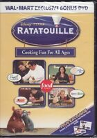 Ratatouille Cooking Fun For All Ages (DVD) Wal-Mart Bonus DVD Not The Movie