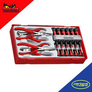 TTMI16 - Teng Tools - 16 Piece Mini Pliers & Screwdriver Set