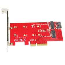 Q13020 WBTUO Desktop PCI-E X4 to Key B: M.2 (NGFF) SSD + Key M: NGFF (M.2) SSD