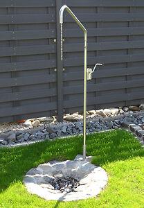 Schwenkgrill Edelstahl Grillgalgen Ausleger 60 cm Seilwinde Bodenhülse Dreibein