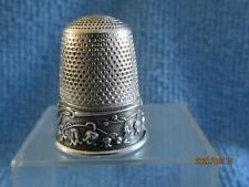 Dé a coudre argent Ancien/Antique french silver thimble/altes Fingerhut Silber