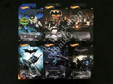Hot Wheels Batman Set Of 6 Die-cast Vehicles By Mattel 2015, The Bat Batcycle