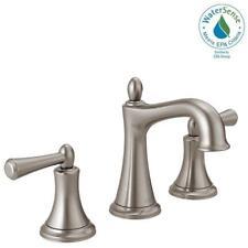 delta bathroom faucets brushed nickel. Delta Rila 8 In. Widespread 2handle Bathroom Faucet In SpotShield Brushed Nickel Faucets E