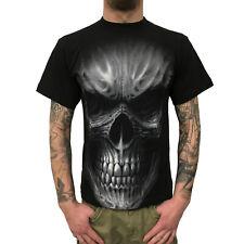 SPIRAL - Death Rage - Herren T-Shirt (Gothic Skull Mens Shirt) schwarz