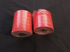 Vintage -Monarch - Red Discount Labels - Monarch Price Guns-UnUsed - 2 Big Rolls