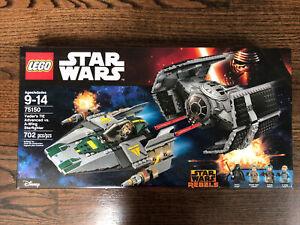Lego Star Wars 75150 Vader's TIE Advanced vs. A-Wing Starfighter NIB sealed