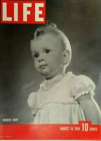 LIFE MAGAZINE  AUGUST 14 1939