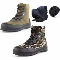 New Men Tactical Army Breathable Combat Ankle Boots Outdoor Hiking Hunting Shoes