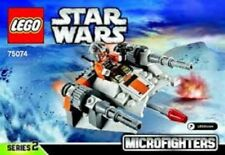 Star Wars Snowspeeder Lego Pack Construction Set Pilot Minifigure Cockpit 6-12