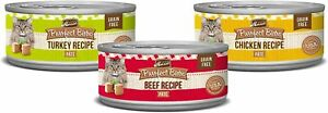 Merrick Purrfect Bistro Grain Free Wet Cat Food Variety Pk Exp May 22