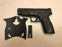 HANDLEITGRIPS Laser Cut Textured Rubber Gun Grip Gun Part for Springfield XDm 9