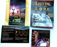 Lands of Lore Guardians of Destiny 1997 PC 4 Disc set Manuals Strategy Guide ++