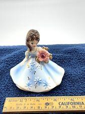 October Porcelain Opal Josef Originals Birthday Girl Figurine.