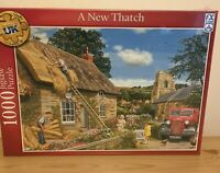 A New Thatch 1000 PIECE JIGSAW PUZZLE New and Sealed