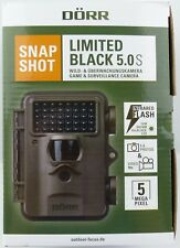 DÖRR Caméra pour la chasse Piège Photographique Snapshot limitée Noir 5.0s