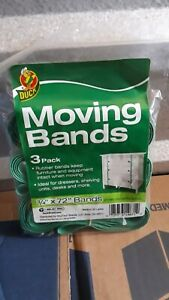 """DUCK MOVING BANDS 3 PACK 3/4"""" x 72"""" bands"""
