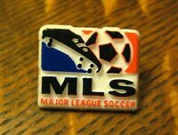 MLS Football Lapel Pin - Vintage Major League Soccer Sports Logo Souvenir Badge