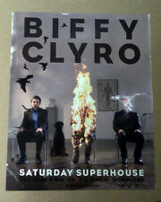 BIFFY CLYRO - SATURDAY SUPERSTORE 2007 MUSIC ADVERT POSTER CLIPPING 31 x 25 cm