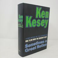 Sometimes a Great Notion Ken Kesey | First Edition Facsimile 25th Anniversary Ed