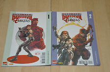 lot 2 comics Ultimate Daredevil Elektra tomes 1 et 2 - Marvel / Panini Comics