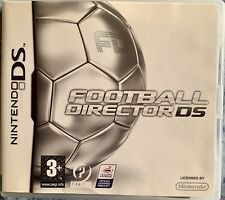 Football Director DS. Nintendo DS. Manual Included.
