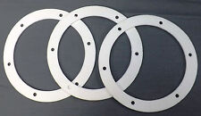 "Pellet Stove 6"" Fan Gasket Exhaust Combustion. Motor Mount to Housing Seal 3 PK!"