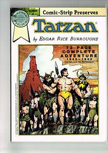 COMIC-STRIP PRESERVES #2 TARZAN 1942-43 BLACKTHORNE COMICS 1986 NM E R BURROUGHS