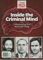 TIME LIFE Inside the Criminal Mind 2019 Charles Manson, Al Capone, Ted Bundy