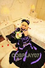 Chobits Chii Gothic Lolita Luxury Ver Cosplay Costume
