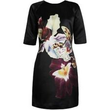 Pretty TED BAKER 'KAMILA' shift dress TB 5 UK 14/16 US 10/12