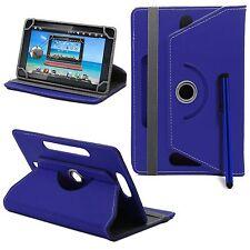 360 GIRATORIO PIEL SOPORTE UNIVERSAL Funda para 7-8 Android Tablet PC