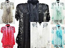 Party Floral Viscose Tops & Shirts Plus Size for Women