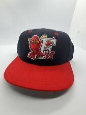 Fargo Moorhead Redhawks New Era Fitted Hat 100% Wool 7 1/8