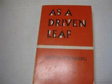As a Driven Leaf by Milton Steinberg and Chaim Potok