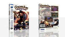 Golden Axe - The Duel Sega Saturn Replacement Case + Box Art Work Cover No Game