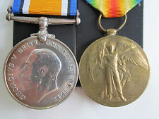 Canadian WW1 British War & Vic Medal pair to Spr. J. Gallagher Canadian Enginers