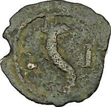 HADRIAN 126AD Chalkon Alexandria Egypt Cornucopia Plenty Horn Roman Coin i40124